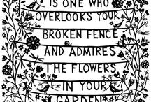 Inspiring Quotes about gardens / by Lynda Appuhamy kidsinthegarden.co.uk