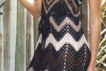 Vestidos de croché
