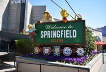 Springfield at Universal Studios Hollywood / Enjoy the Simpsons area of Springfield at Universal Studios Hollywood.