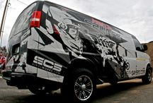 Vehicle Wrap Ideas / Advertising for our van