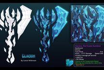 weapon / armor cg