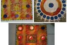 Handmade Rangoli Ideas / Rangoli For Diwali Celebration