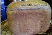 Kenyér receptek kenyérsütő géphez