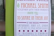 Faire-part, invitation...