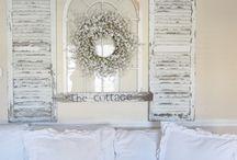old shutters / by Darlene Muhlsteff