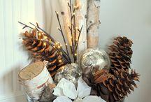 A white birch Christmas