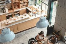 Restaurant and cafe design / Fav design  / by Lily Brett