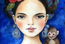 Frida para pintar..frida para viver..