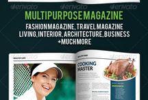 couverture magazine / Inspiration pour création d'un magazine