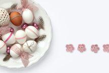 My easter 2016 / easter eggs bakers twine spring decoration washi tape masking tape frühling ostereier garn diy idea