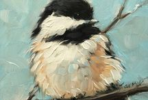 Птицы художественные...