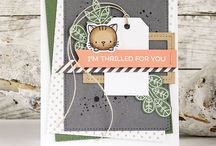 everything my favorite things MFT / cards, diecutting