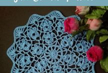 Crochet Doilies & Coasters, Placemats and Table Runners / Free crochet patterns for Crochet Doilies and Coasters, placemats, table runners etc