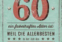 60. Geburtstag Ideen
