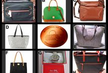 Fashion Friday at OneCentChic / Choice auction of designer bags tonight at 10 PM ET