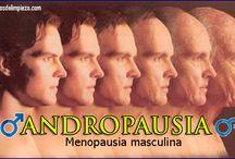 """LA ANDROPAUSIA / La andropausia, llamada también la """"menopausia masculina"""", tiene muchas particulares que aquí te vamos a contar."""