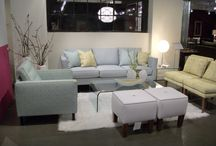 Living Spaces for your Home / Living room pieces that are comfortable and add a 'wow' to your space!