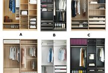Bedroom wardrobe systems