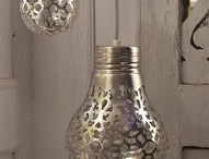 recycle lightbulbs π / See also my other recycle boards / by Pii Topio