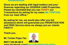 Baguio Real Estate For Sale / I am a Sales and Marketing Manager of Goshen Land Capital Inc.