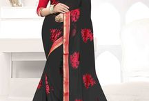2627 Fiona Heavy Resham Embroidery work Sarees