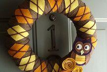 Craft ideas / Fall wreath