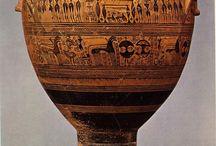 Antike kunst / geometrische periode Griekenland