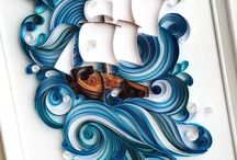 the sea quilling