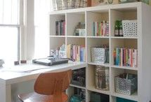 Home Office / Whether you do or don't have a spare room here are some beautiful ideas on creating a home office. Make your workspace somewhere you love to be!