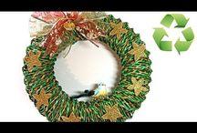 vánoce pletení