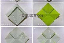 Origami for decoration