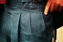 Trousers with waists