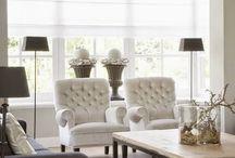 Stijlbord: klassiek landelijk interieur / landelijke interieurstijl met klassieke vormen