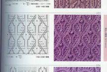 pletene a háčkovane vzory