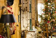 Log Home Holidays / Festive Homes! / by LogFinish.com
