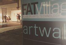 Fat Village art walk