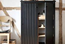 My new kitchen / Inspiration for our new kitchen- gray, black, white and wood