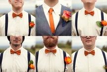 Groomsmen Business / I'm going to show Dave some ideas so he can choose his suit/tux and his groomsmen attire :)