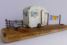 Kirstie Elson / Wood sculpture