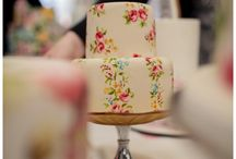 Pretty Painted Cakes / by The Cupcake Lady (SA)