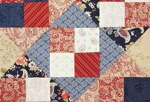 Quilt--Benjamin Franklin blocks