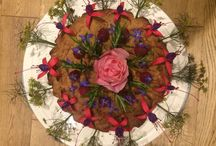 Decorated Vegan Food / Food prepared for pleasure - visually and taste wise - vegan of-course.