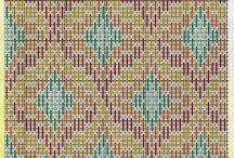 Szálöltés szőnyeghez párnához