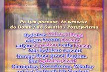 DEKALOG - Przykazania - Przyrzeczenia / Po tym poznasz, że wracasz - do Domu / do Światła / Pozytywizmu - do Wnętrza Boga i Siebie samego www.JasnowidzJacek.blogspot.de