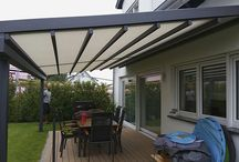 Wetterschutz für die Terrasse / Flexibler, einfahrbarer #Wetterschutz ist mehr als nur eine #Markise, damit Sie Ihre #Terrasse zum #Urlaubsparadies machen können.  #Relaxen im eigenen #Garten