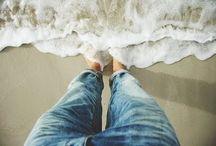 beach / by Anne Zimmerman