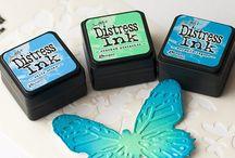 distress inking