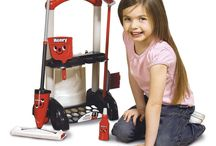 Children Christmas Gift Toy Kids Educational Game Cleaning Trolley Set Role Play