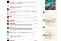 Tweet Display #WordPress Plugins / Web design notes on the best WordPress plugins to visually display, embed an widget tweets. / by Grant Stern