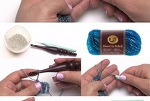How to crochet with beads